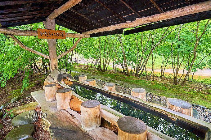 上の湯温泉「銀婚湯」は、緑豊かな自然環境が素晴らしい秘湯!