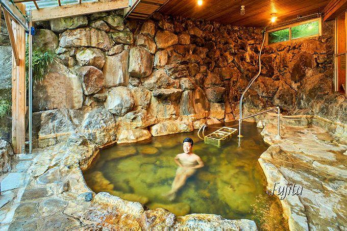 足元自噴温泉「イコロ・ボッカの湯」が最高!