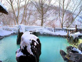 新緑も紅葉も最高!八幡平・松川温泉「峡雲荘」の雪見露天風呂|岩手県|トラベルjp<たびねす>
