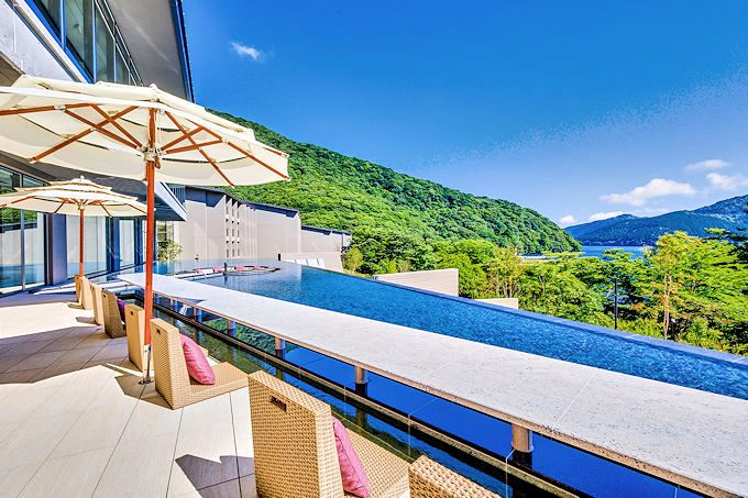 箱根温泉の最新ホテル!芦ノ湖一望の「はなをり」は女性におすすめ