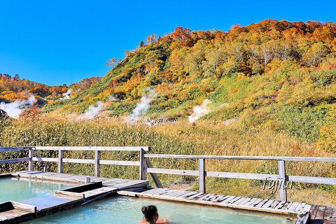 紅葉名所の絶景露天風呂!秋田八幡平・蒸の湯温泉「ふけの湯」