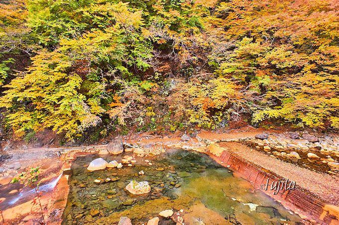尻焼温泉の露天風呂は関東を代表する野湯