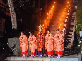 草津温泉感謝祭が凄い!温泉女神昇天の演出が感動的で涙を誘う