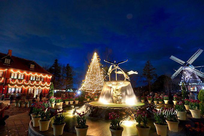 2日間限定イルミネーションが無料!船橋「アンデルセン公園」のクリスマス