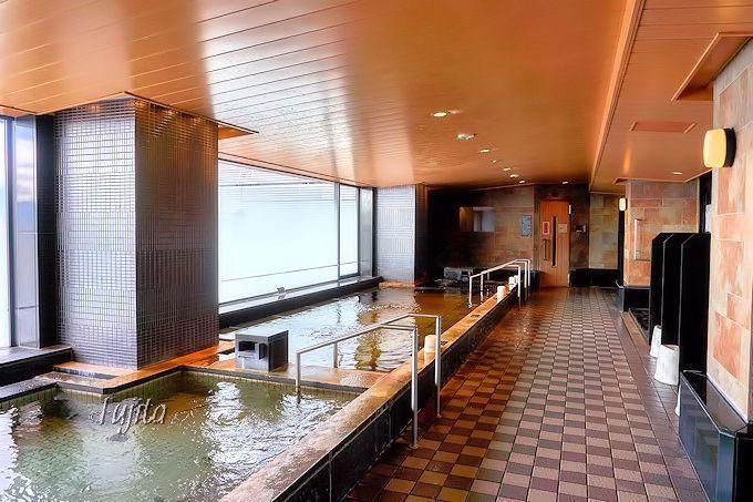 京都市のホテルで唯一!貴重な天然温泉の源泉風呂