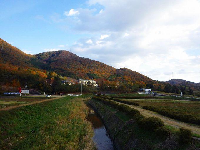 今田地区は、のんびりとした里山歩きに最適!