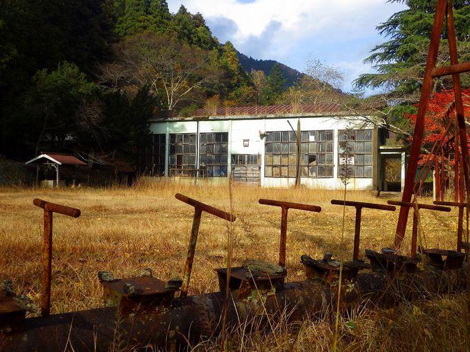 懐かしさと淋しさがただよう神子畑小学校跡