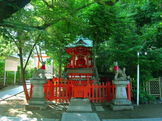 神秘的な雰囲気が漂うパワースポット、関守稲荷神社