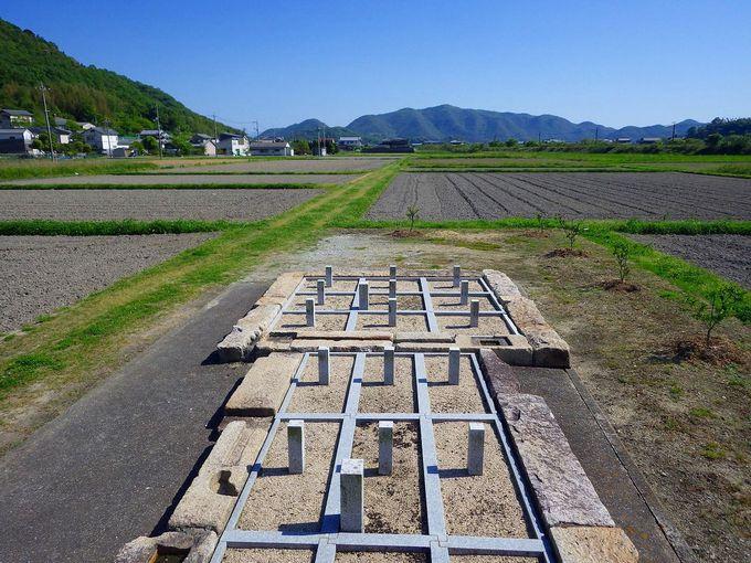 世界にここだけ?!旧閑谷学校を経済面で支えた日本遺産「井田跡」