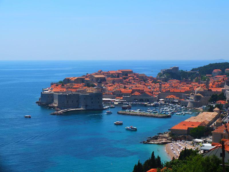 私この街にする!クロアチア・ドブロブニクは『魔女の宅急便』の舞台の街