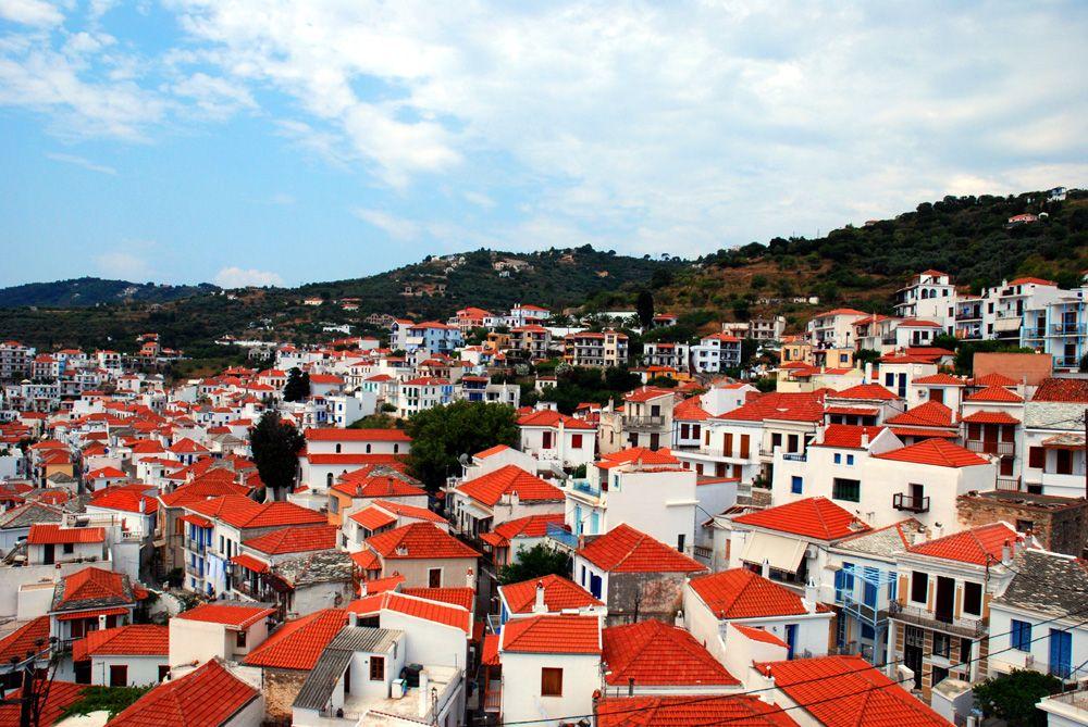 のどかな雰囲気が漂うスコペロス島