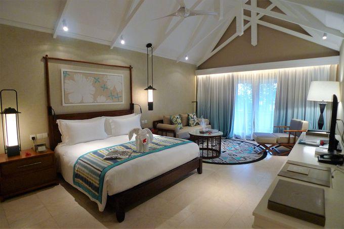 自然と調和した居心地のよい客室