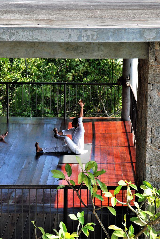 高台に建つ、極上の癒し空間へ