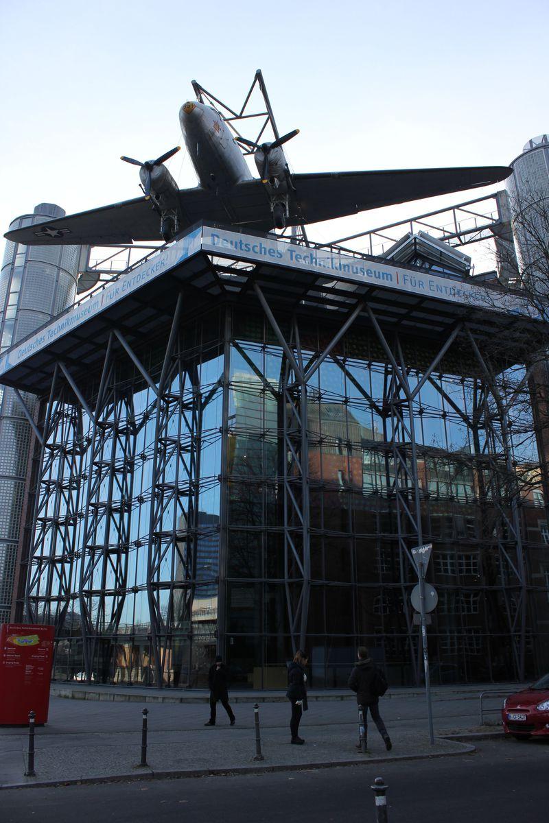 ベルリン「ドイツ技術博物館」は見どころ満載のびっくり箱