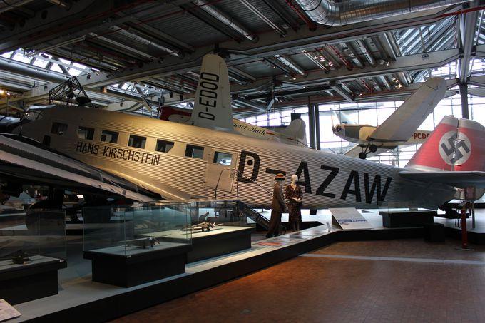 航空史上最も有名な飛行機、ユンカース社Ju52