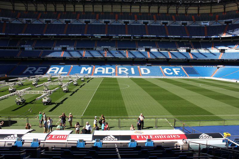サッカーファンの憧れ!レアルマドリッドのホームスタジアム「サンティアゴ・ベルナベウスタジオ」