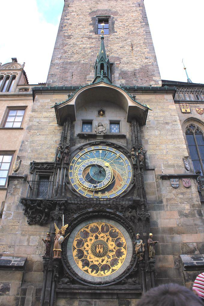 天文時計と旧市街