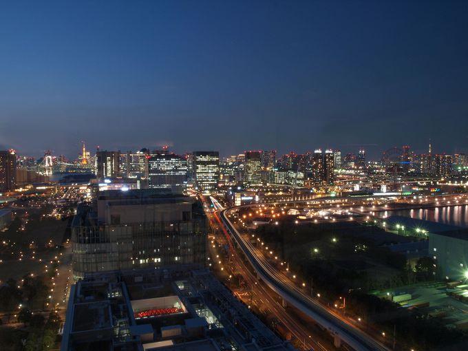 これこそがテレコムセンターの誇る夜景