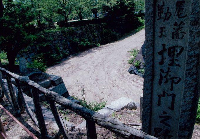名古屋城、秘密の脱出経路
