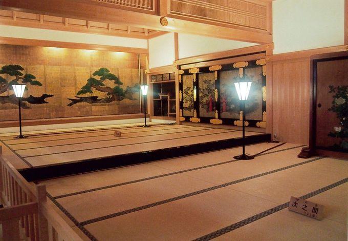すぐに篠山城ハイライト、二の丸大書院