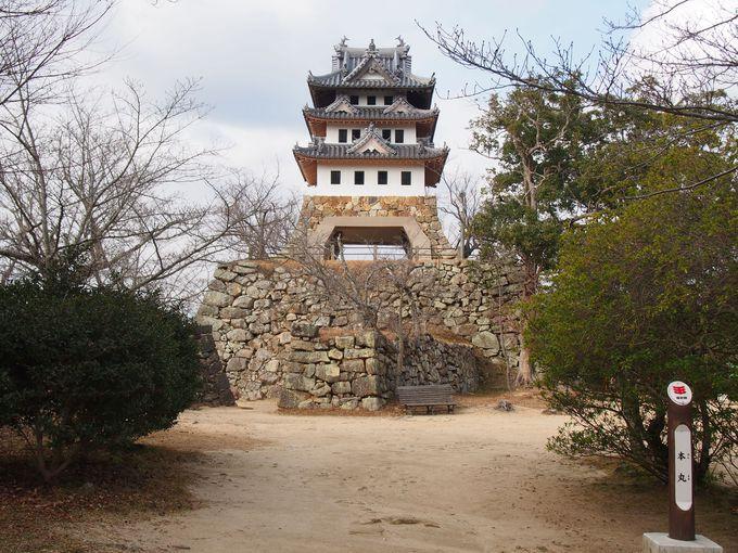 守りに守られた洲本城中心部「本丸」