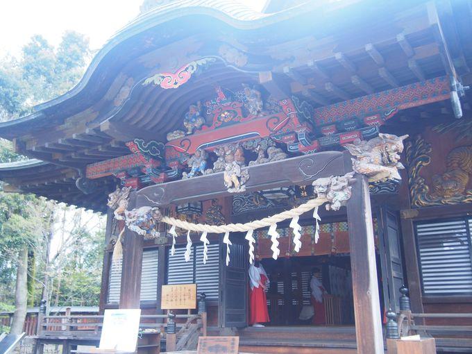 徳川の威光を示す豪華絢爛な社殿