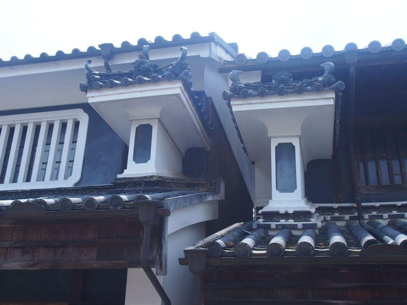 徳島の軒下に見る建築の粋「うだつ」〜吉野川流域、脇町・貞光〜