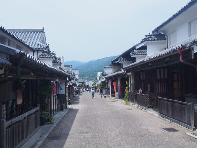 徳島県で古い街並みといえばこちら「脇町」
