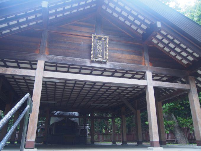 そうそうたる37柱を祀る「開拓神社」