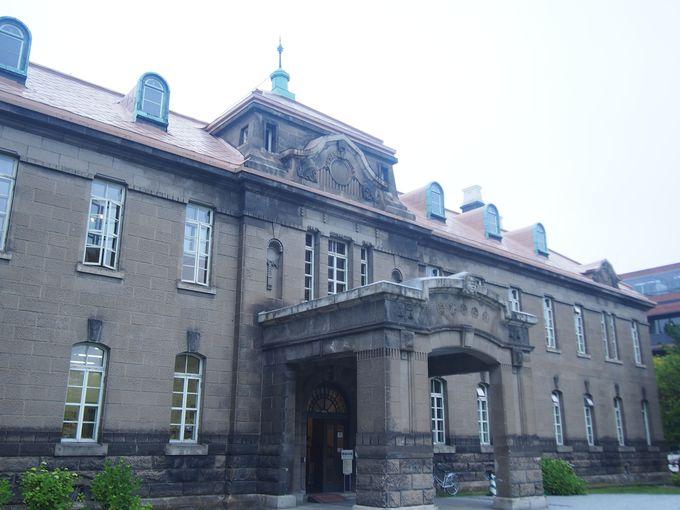 西端に立つは札幌史を伝える「札幌市資料館」