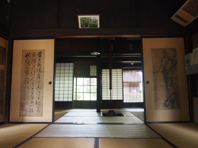 下級武士の屋敷にも質実剛健たる風格「後藤新平旧宅」