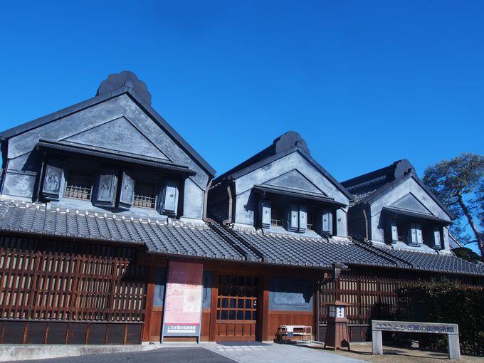 建物も美術品。土蔵造りの「とちぎ蔵の街美術館」
