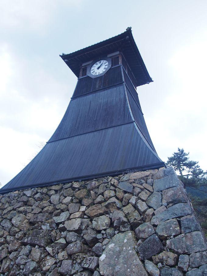 日本最古の時計台「辰鼓楼」