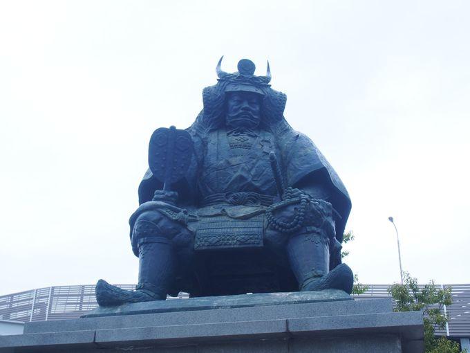 1.武田信玄公像/甲斐善光寺