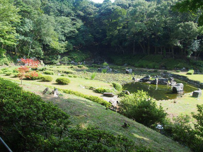 29代・政弘時代を伝える名庭「常栄寺雪舟庭」