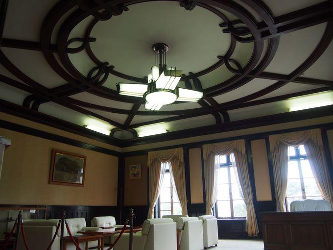 木工技術を活かした「旧知事室」