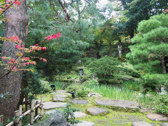 水墨画的風景の「玉泉園」