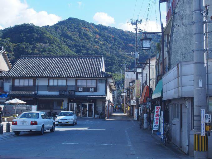 レトロが薫る「日奈久温泉街」