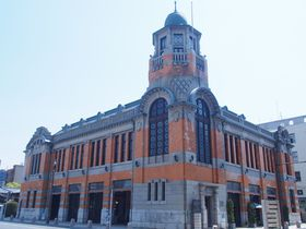 北九州の要港にそびえる美麗な塔屋~門司港・旧大阪商船~|福岡県|トラベルjp<たびねす>