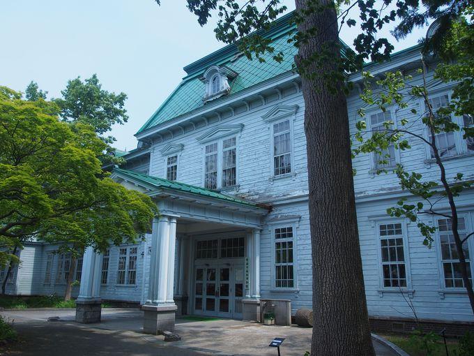 青森で貴重な古い建物「青森市森林博物館」