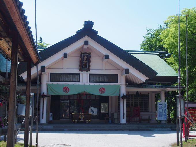 青森発祥の地「善知鳥神社」