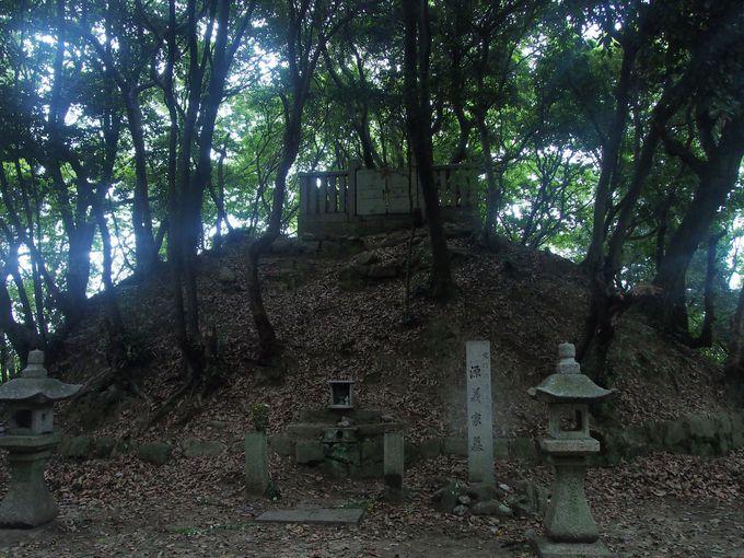 源氏の台頭はここから始まりました「源義家墓」