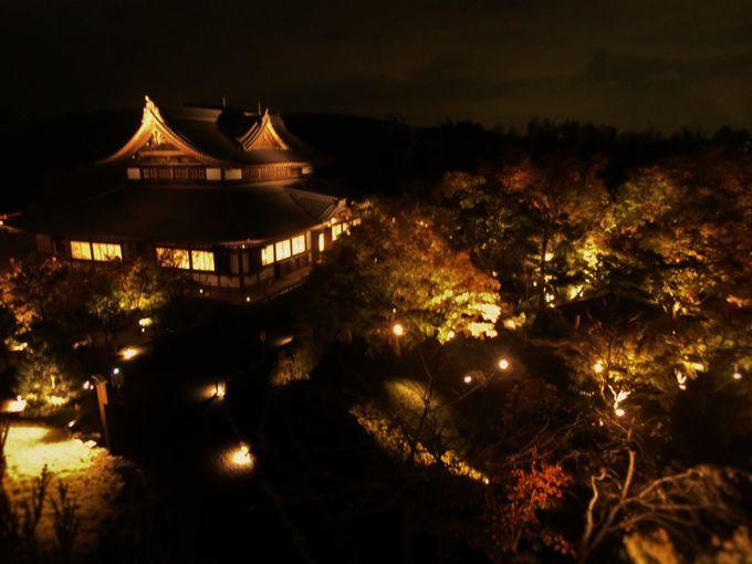 日本の夜景百選♡将軍塚青龍殿
