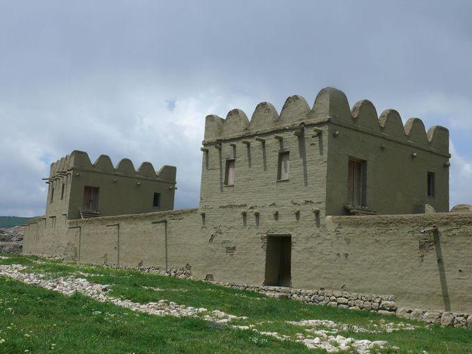 世界遺産「ヒッタイトの首都ハットゥシャ」城砦跡の王宮遺跡