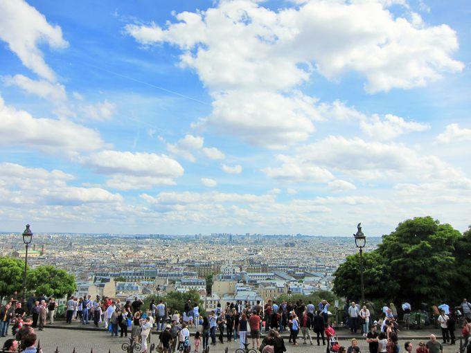 空が近い!パリで一番高い場所から見渡す絶景!