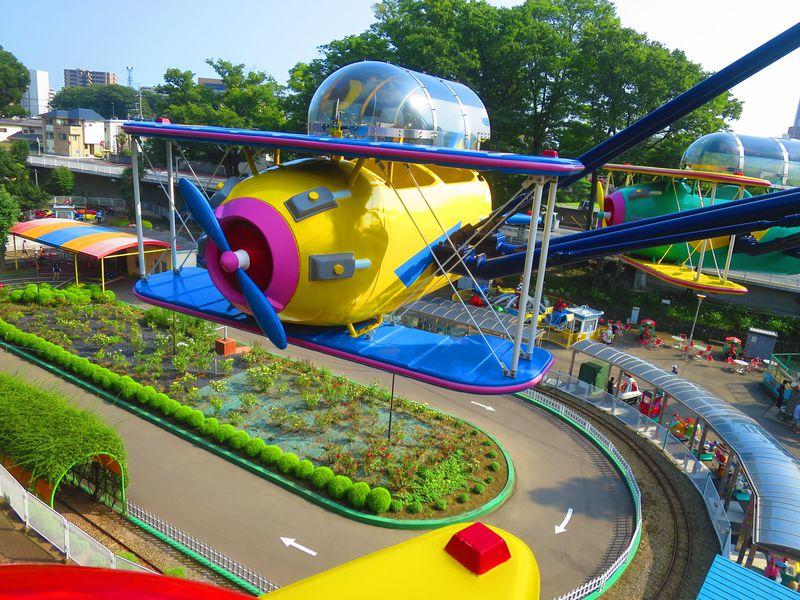 日本一安い遊園地!10円と50円で遊べる前橋「るなぱあく」
