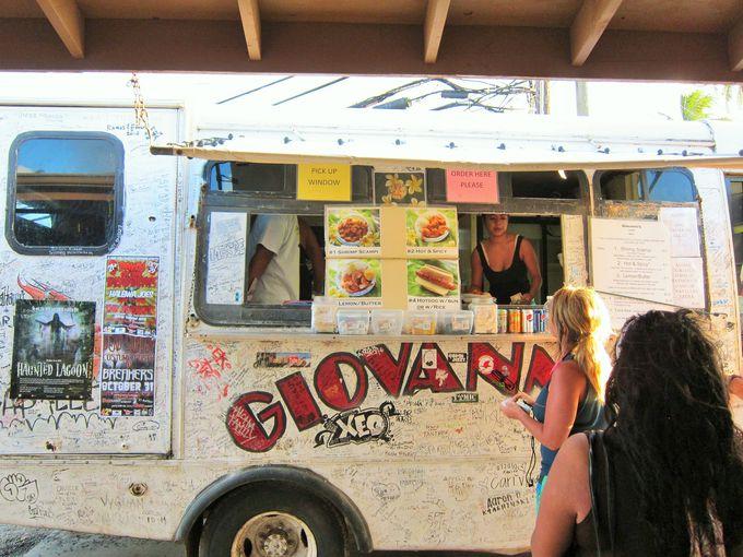 ガーリックシュリンプブームの火付け役。ジョバンニ(Giovanni's Shrimp Truck)