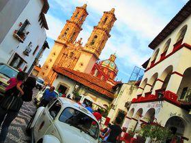 メルヘンの世界が実在!メキシコ・白い町並み「タスコ」が美しい