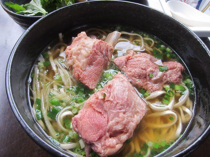 沖縄に来たら必ず食べたい「沖縄そば」