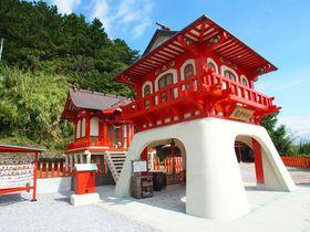 浦島太郎伝説発祥の地!指宿「長崎鼻と龍宮神社」が美しい